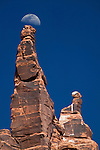 Rock formations in Monument Valley, Utah, USA
