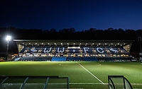 A general view of the Adams Park stadium<br /> <br /> Photographer Andrew Kearns/CameraSport<br /> <br /> The EFL Sky Bet League One - Wycombe Wanderers v Fleetwood Town - Tuesday 11th February 2020 - Adams Park - Wycombe<br /> <br /> World Copyright © 2020 CameraSport. All rights reserved. 43 Linden Ave. Countesthorpe. Leicester. England. LE8 5PG - Tel: +44 (0) 116 277 4147 - admin@camerasport.com - www.camerasport.com