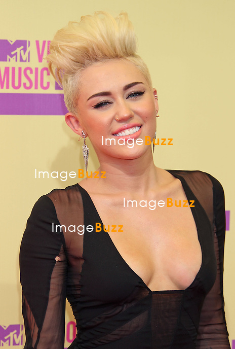 Miley Cyrus, The 2012 MTV Video Music Awards arrivals at Staples Center in Los Angeles, September 6th, 2012.