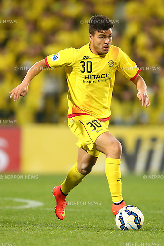 Cristiano (Reysol),<br /> MARCH 17, 2015 - Football / Soccer : <br /> AFC Champions League Group E <br /> match between Kashiwa Reysol 2-1 Shandong Luneng FC <br /> at Hitachi Kashiwa Stadium, Chiba, Japan.<br /> (Photo by AFLO SPORT)