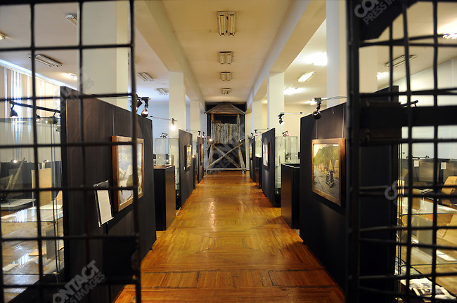 In the regional museum in Magadan, Russia, a city associated most closely the the gulag archipeligo, a whole room is dedicated to the history of the gulag in the Kolyma region. February 5, 2011
