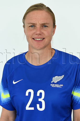 09.02.2015. Cushla Lichtwark. New Zealand Football Ferns headshots ahead of the FIFA Womens World Cup in Canada in June. Auckland, New Zealand. Monday 9 February 2015.