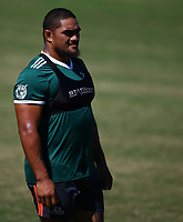 DURBAN, SOUTH AFRICA -Monday February 18th: Ofa Tu'ungafasi of the Blues during the Blues Training at Northwood School Durban North, on February 18th, 2019 in Durban, South Africa.Photo by Steve Haag / stevehaagsports.com