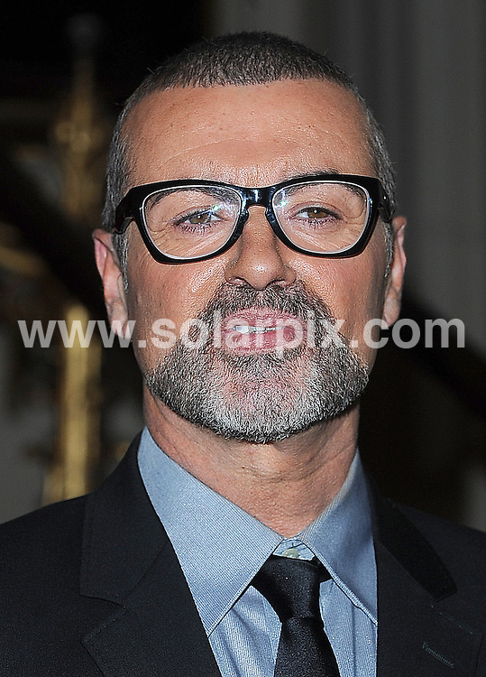 **ALL ROUND PICTURES FROM SOLARPIX.COM**                                             **WORLDWIDE SYNDICATION RIGHTS**                                                                                  Caption: George Michael announces his eagerly awaited return to the stage with Symphonica: The Orchestral Tour, his first European dates since his 25Live tour concluded in Copenhagen back in August 2008. Held at the Royal Opera House, London, UK..11th May 2011                                                                              This pic: George Michael                                                                                             JOB REF: 13313 TLP       DATE: 11_05_2011                                                          **MUST CREDIT SOLARPIX.COM OR DOUBLE FEE WILL BE CHARGED**                                                                      **MUST AGREE FEE BEFORE ONLINE USAGE**                               **CALL US ON: +34 952 811 768 or LOW RATE FROM UK 0844 617 7637**