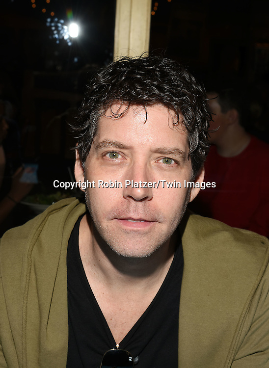 James Barbour attends the Broadway Cares/Equity Fights Aids Flea Market and Grand Auction on September 25, 2016 at the Music Box Theatre and in Shubert Ally in New York, New York, USA. <br /> <br /> photo by Robin Platzer/Twin Images<br />  <br /> phone number 212-935-0770