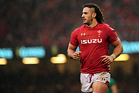 Pictured: Josh Navidi of Wales during the Guinness six nations match between Wales and Ireland at the Principality Stadium, Cardiff, Wales, UK.<br /> Saturday 16 March 2019