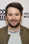 Alex Brightman attends the opening night performance of the MCC Theater's 'Alice By Heart' at The Robert W. Wilson Theater Space on February 26, 2019 in New York City.