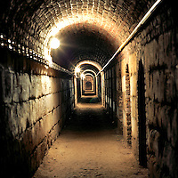 Old 18th Century Casemate that was used as a nuclear shelter for 1,200 civilians during the Cold War. CHECK with MRM/FNA