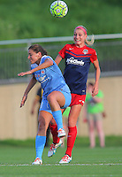 Boyds, MD - Saturday July 09, 2016: Sofia Huerta, Megan Oyster during a regular season National Women's Soccer League (NWSL) match between the Washington Spirit and the Chicago Red Stars at Maureen Hendricks Field, Maryland SoccerPlex.