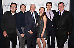 Larry Pine, Vincent Kartheiser, Garry Marshall, Sophie von Haselberg, Drew Gehling and Mike Bencivenga attends the Off-Broadway opening Night Performance After Party for 'Billy & Ray' at the Vineyard Theatre on October 20, 2014 in New York City.