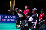 Boris Nicolai (GER)<br /> BC4 Bronze Medal Match<br /> Germany v Hong Kong<br /> BISFed 2018 World Boccia Championships <br /> Exhibition Centre Liverpool<br /> 18.08.18<br /> ©Steve Pope<br /> Sportingwales
