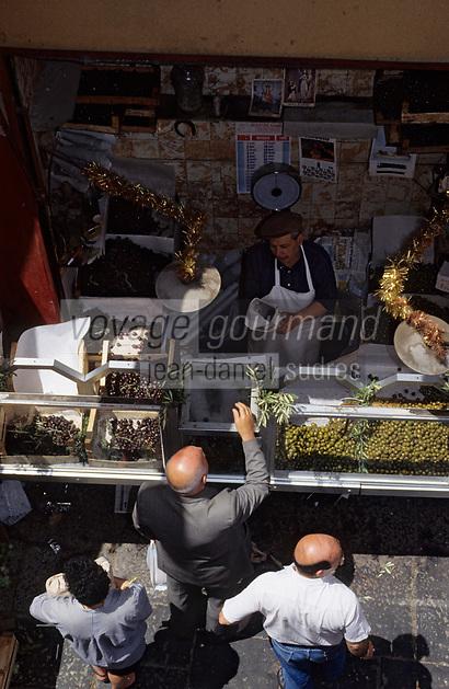 Europe/Italie/Sicile/Palerme : Le marché