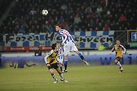VOETBAL: SC HEERENVEEN: Abe Lenstra Stadion, 17-02-2012, SC-Heerenveen-NAC, Eredivisie, Eindstand 1-0, Bas Dost, ©foto: Martin de Jong
