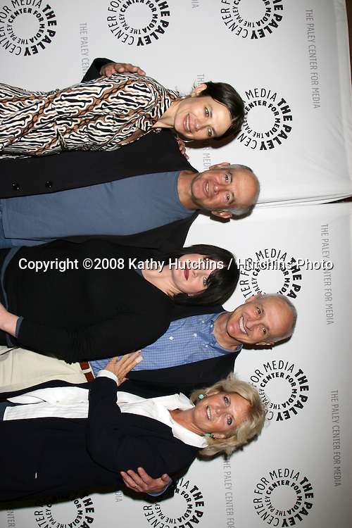 Justine Bateman, Gary David Goldberg, Tina Yothers, Michael Gross, and Meredith Baxter.Tribute to Gary David Goldberg.Paley Center for Media.Beverly Hills, CA.February 11, 2008.©2008 Kathy Hutchins / Hutchins Photo....