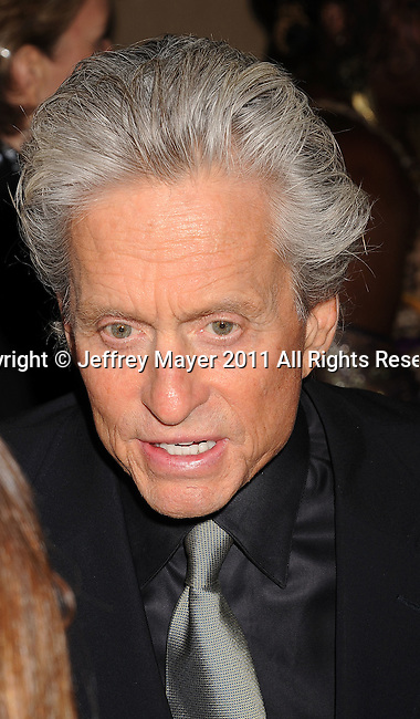 """CULVER CITY, CA - OCTOBER 15: Michael Douglas  attends the The 6th Annual """"A Fine Romance"""" Event at Sony Pictures Studios on October 15, 2011 in Culver City, California."""