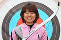 Miki Kanie (JPN), .April 22, 2012 - Archery : .Archery Japan National Team Selection match for The World Cup Ogden 2012 .at JISS Archery Field, Tokyo, Japan. .(Photo by Daiju Kitamura/AFLO SPORT) [1045]