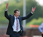 Motherwell boss Jim Gannon roars