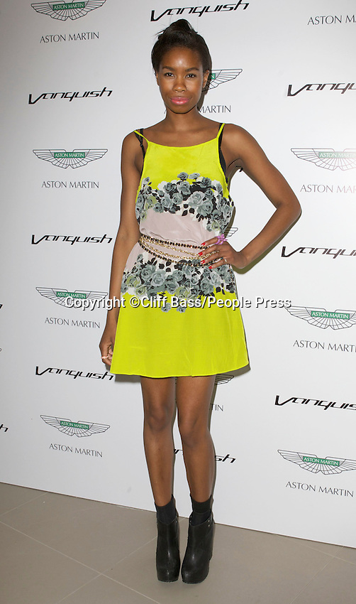 London - Aston Martin Vanquish Launch Party at the London Film Museum, Covent Garden, London - July 4th 2012..Photo by Cliff Bass