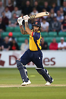 Cameron Delport hits 4 runs for  Essex during Essex Eagles vs Somerset, Vitality Blast T20 Cricket at The Cloudfm County Ground on 7th August 2019