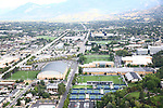 1309-22 3441<br /> <br /> 1309-22 BYU Campus Aerials<br /> <br /> Brigham Young University Campus, Provo, <br /> <br /> Athletics Complex, Indoor Practice Facility IPF, South Soccer Field, Smith Fieldhouse SFH, Student Athlete Building SAB, Richards Building RB<br /> <br /> September 6, 2013<br /> <br /> Photo by Jaren Wilkey/BYU<br /> <br /> © BYU PHOTO 2013<br /> All Rights Reserved<br /> photo@byu.edu  (801)422-7322