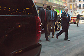 Mike Pence arrives at Trump Tower in Manhattan, New York, U.S., on Wednesday, December 7, 2016. POOL PHOTO BY John Taggart/BloombergUnited States Vice President-elect Mike Pence arrives at Trump Tower in Manhattan, New York, New York, USA on Wednesday, December 7, 2016. <br /> Credit: John Taggart / Pool via CNP