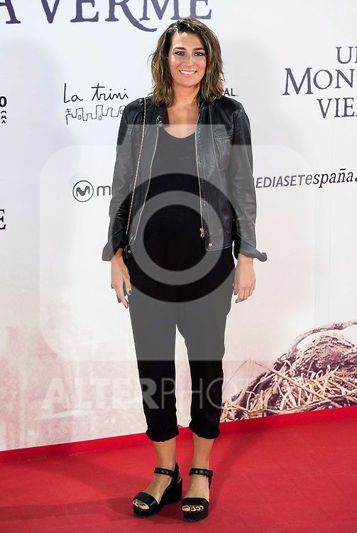 "Eugenia Osborne during the premiere of the spanish film ""Un Monstruo Viene a Verme"" of J.A. Bayona at Teatro Real in Madrid. September 26, 2016. (ALTERPHOTOS/Borja B.Hojas)"