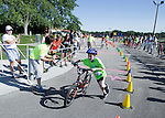 2013 Oregon Kids Triathlon Saturday, August 10, 2013, in Oregon, Wisconsin. (Photo by David Stluka)