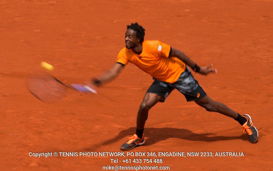 GAEL MONFILS (FRA)<br /> <br /> TENNIS - FRENCH OPEN - ROLAND GARROS - ATP - WTA - ITF - GRAND SLAM - CHAMPIONSHIPS - PARIS - FRANCE - 2017  <br /> <br /> <br /> <br /> &copy; TENNIS PHOTO NETWORK