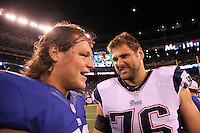 29.08.2012: New York Giants vs. New England Patriots