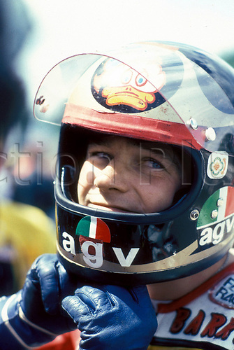 Barry Sheene England who died of cancer on 10 03 2003 in Australia