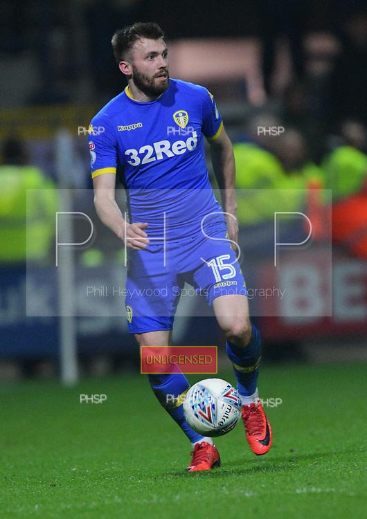 10/04/2018 Sky Bet League Championship Preston North End v Leeds United<br /> <br /> Stuart Dallas, Leeds United FC