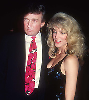 Donald & Marla Trump 1991<br /> Photo By John Barrett/PHOTOlink.net