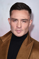 """Ed Westwick<br /> arriving for the Royal Film Premiere of """"1917"""" in Leicester Square, London.<br /> <br /> ©Ash Knotek  D3543 04/12/2019"""