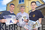 OPEN NIGHT: Staff at Teach Iosaga?in in Rathmore who are holding an open night this week to promote the activities and classes at the centre, l-r: Derek O'Leary (Manager), Donal Kelliher and Barry Murphy.