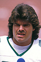 New York Jets Mark Gastineau(99)  portrait from his 1985 season game against the Los Angeles Raiders on September 8, 1985 at the Los Angeles Memorial Coliseum in Los Angeles, California. Mark Gastineau played for 10 years all with the Jets  and  was a 5-time Pro Bowler.David Durochik/SportPics