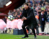 Atletico de Madrid's coach Diego Pablo Cholo Simeone during La Liga match. March 4,2018. (ALTERPHOTOS/Acero) /NortePhoto.com NORTEPHOTOMEXICO