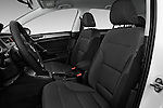 Front seat view of 2017 Volkswagen Golf S 5 Door Hatchback Front Seat  car photos