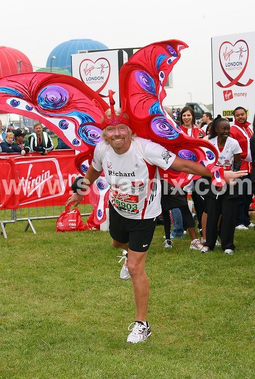 **ALL ROUND PICTURES FROM SOLARPIX.COM**.**WORLDWIDE SYNDICATION RIGHTS**.The start of The Virgin London Marathon in Blackheath London today...This pic:  Sir Richard Branson ..JOB REF: 11158      LNJ     DATE:25.04.2010.**MUST CREDIT SOLARPIX.COM OR DOUBLE FEE WILL BE CHARGED**.**MUST NOTIFY SOLARPIX OF ONLINE USAGE**.**CALL US ON: +34 952 811 768 or LOW RATE FROM UK 0844 617 7637**