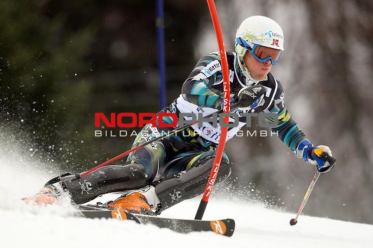 06.01.2011., Sljeme, Zagreb, Croatia - FIS Ski World Cup, Snow Queen Trophy, men slalom race, 1st run.<br /> Lars Elton Myhre<br />                                                                                                    Foto:   nph / PIXSELL