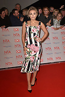 Talia Storm attending the National Television Awards 2018 at The O2 Arena on January 23, 2018 in London, England. <br /> CAP/Phil Loftus<br /> &copy;Phil Loftus/Capital Pictures