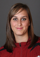 STANFORD, CA - OCTOBER 22:  Amber Oland of the Stanford Cardinal during water polo picture day on October 22, 2009 in Stanford, California.