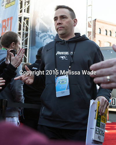 Rick Blackadar (PC) - The teams walked the red carpet through the Fan Fest outside TD Garden prior to the Frozen Four final on Saturday, April 11, 2015, in Boston, Massachusetts.