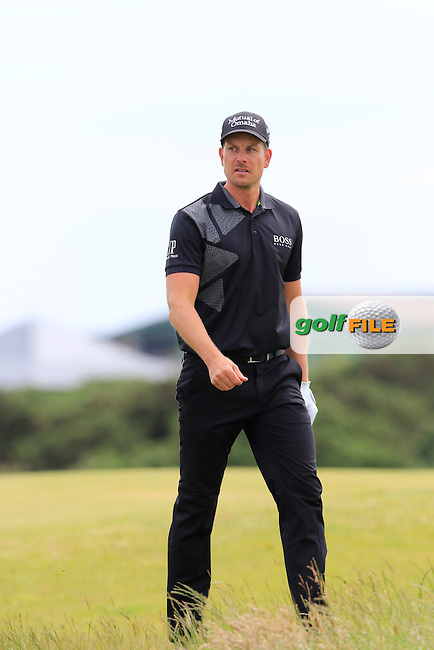 Henrik STENSON (SWE) walks to the 15th tee during Monday's Final Round of the 144th Open Championship, St Andrews Old Course, St Andrews, Fife, Scotland. 20/07/2015.<br /> Picture Eoin Clarke, www.golffile.ie
