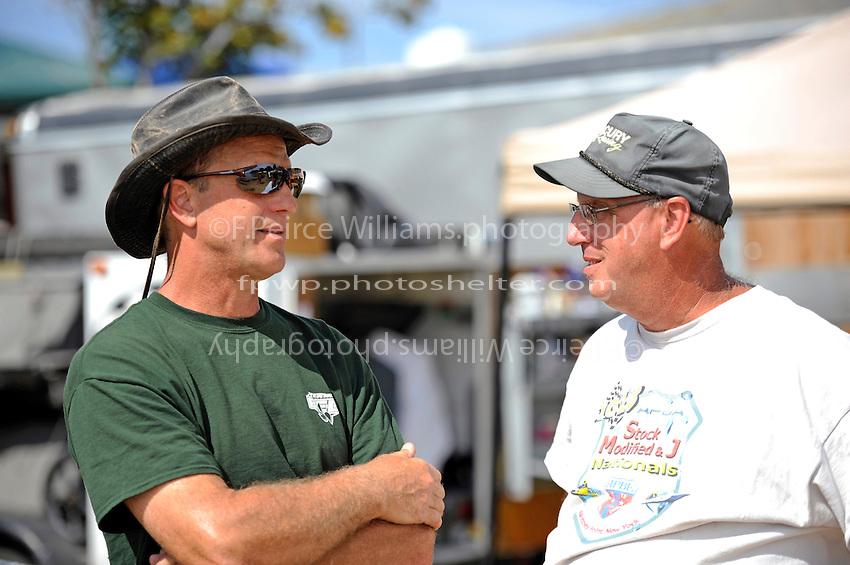 Paul Pittman (L) and Mark Wheeler