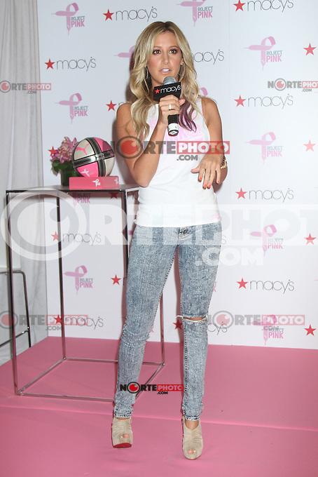 NEW YORK CTY, NY- July 19, 2012: Ashley Tisdale kicks off PUMA's Project Pink Initiative at Macy's Herald Square in New York City. &copy; RW/MediaPunch Inc. /*NORTEPHOTO.com*<br /> **SOLO*VENTA*EN*MEXICO**<br />  **CREDITO*OBLIGATORIO** *No*Venta*A*Terceros*<br /> *No*Sale*So*third* ***No*Se*Permite*Hacer Archivo***No*Sale*So*third*&Acirc;&copy;Imagenes*con derechos*de*autor&Acirc;&copy;todos*reservados*