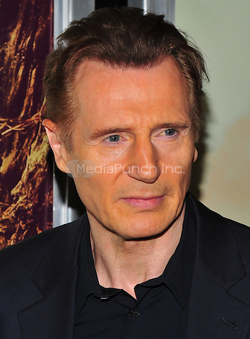 New York, NY: December 7: Liam Neeson attends 'A Monster Calls' New York Premiere at AMC Loews Lincoln Square 13 theater on December 7, 2016 in New York City.@John Palmer / Media Punch