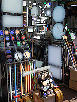 Lampengesch&auml;ft auf der  Cheonggyecheon-ro im Viertel Insadong Seoul, S&uuml;dkorea, Asien<br /> lamp shop on Cheonggyecheon-ro in Insadong Quarters, Seoul, South Korea, Asia