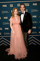 Beverly Hills, CA - JAN 06:  Kimberly Van Der Beek and James Van Der Beek attend the FOX, FX, and Hulu 2019 Golden Globe Awards After Party at The Beverly Hilton on January 6 2019 in Beverly Hills CA. <br /> CAP/MPI/IS/CSH<br /> &copy;CSHIS/MPI/Capital Pictures