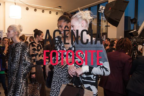 Nova Iorque, EUA &ndash; 02/2014 - Desfile de Diane Von Fustemberg durante a Semana de moda de Nova Iorque - Inverno 2014. <br /> Foto: FOTOSITE