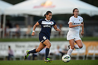 Sky Blue FC forward Monica Ocampo (8). Sky Blue FC defeated the Washington Spirit 1-0 during a National Women's Soccer League (NWSL) match at Yurcak Field in Piscataway, NJ, on August 3, 2013.